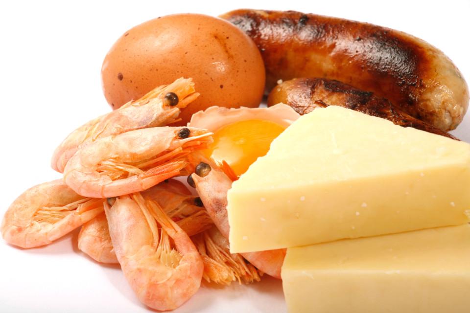 高膽固醇食物