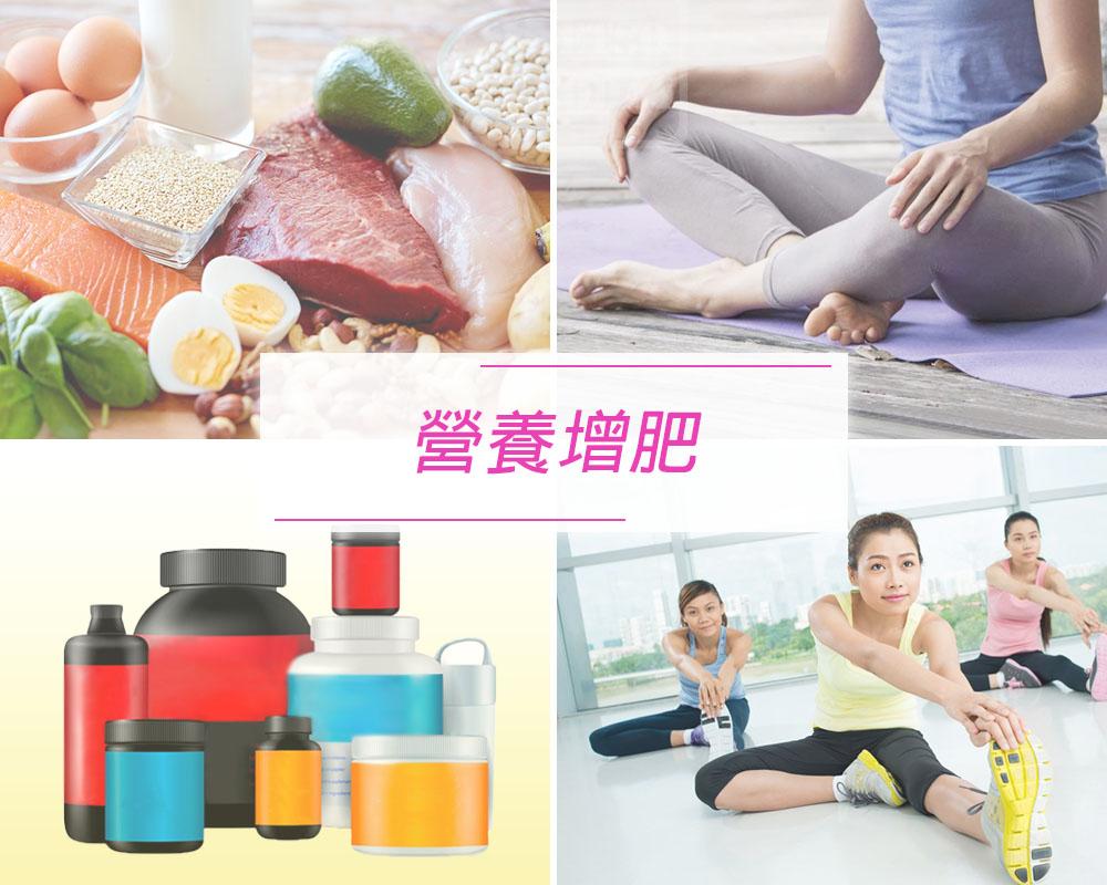 【女性專用營養增肥計劃】
